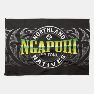 Ngapuhi Lifer Chrome Hand Towels