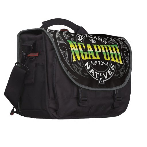 Ngapuhi Lifer Chrome Laptop Computer Bag