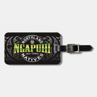Ngapuhi Lifer Chrome Bag Tags