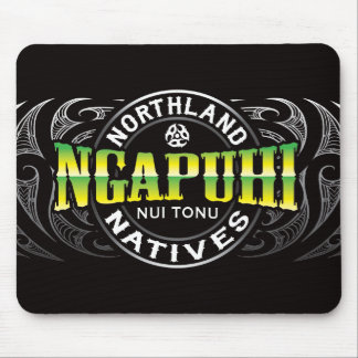 Ngapuhi Lifer Chrome Mouse Pad