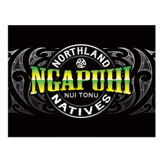 Ngapuhi Lifer Chrome Postcard