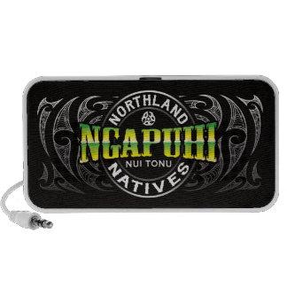 Ngapuhi Lifer Chrome Travelling Speakers