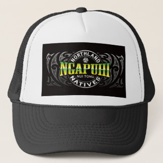 Ngapuhi Lifer Chrome Trucker Hat