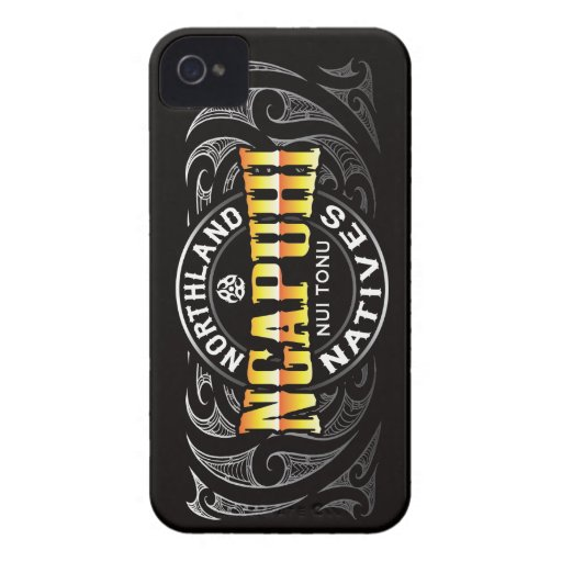 Ngapuhi Lifer Moko iPhone 4 Case-Mate Cases