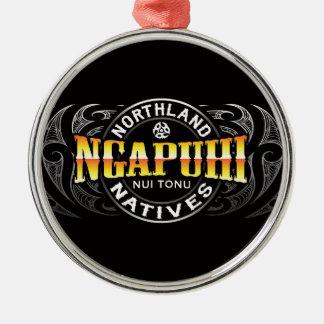Ngapuhi Lifer Moko Christmas Ornament