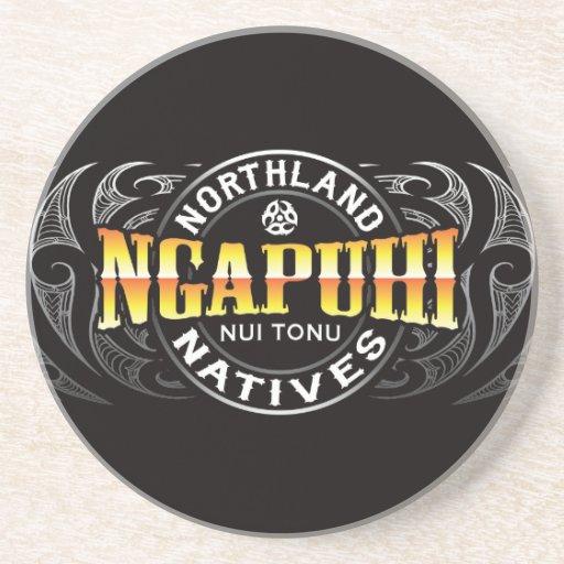 Ngapuhi Lifer Moko Beverage Coaster