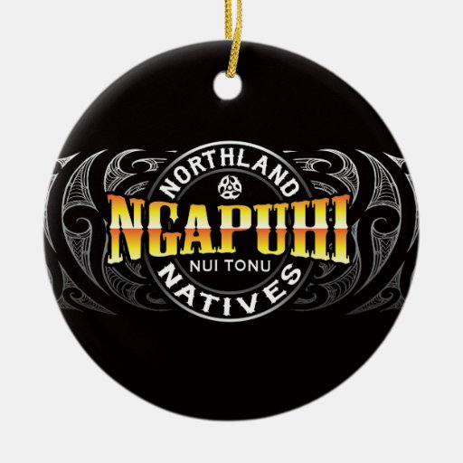 Ngapuhi Lifer Moko Ornament