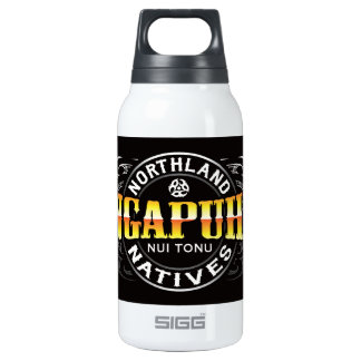 Ngapuhi Lifer Moko Insulated Water Bottle
