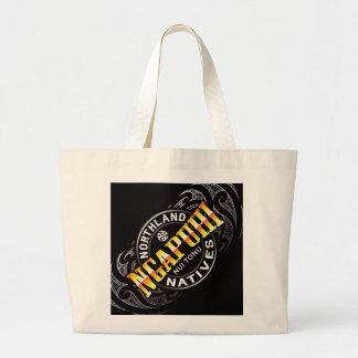 Ngapuhi Lifer Moko Large Tote Bag