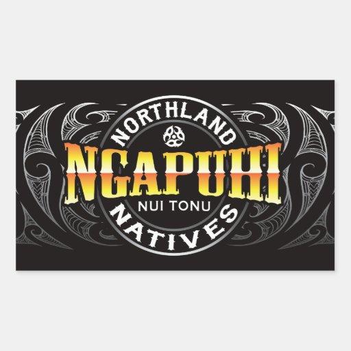Ngapuhi Lifer Moko Stickers