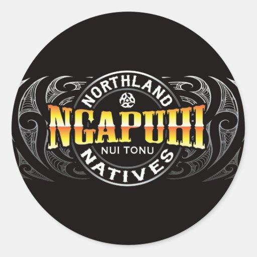Ngapuhi Lifer Moko Sticker