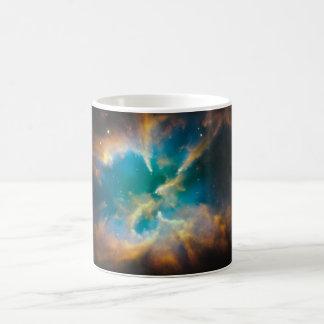 NGC 2818 Planetary nebula glowing Basic White Mug