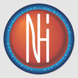 [NHI] Sticker: Logo Classic Round Sticker