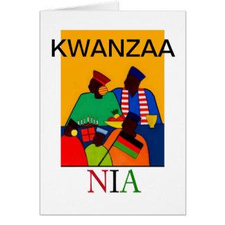 NIA Kwanzaa Holiday Notecards Card