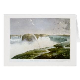 .'Niagara falls' 1868 Card