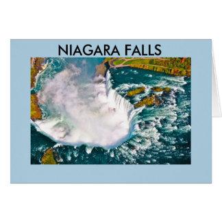 NIAGARA FALLS ANNIVERSARY CARD