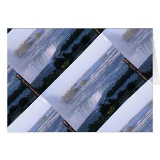 NIAGARA Falls : Artistic Pattern Card