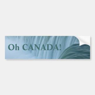 Niagara Falls Oh Canada! Bumper Sticker