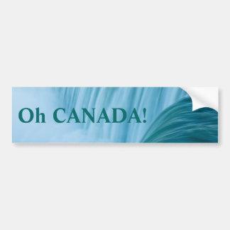 Niagara Falls Oh Canada! Bumper Stickers