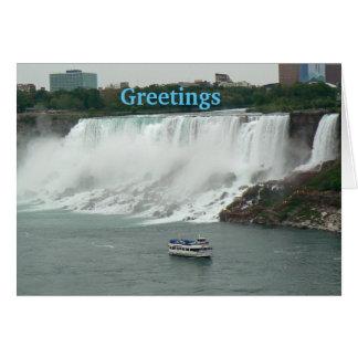 Niagara Falls on the Canadian Side Card
