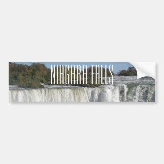 Niagara Falls Photograph Car Bumper Sticker