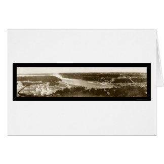 Niagara Falls & River Photo 1896 Card