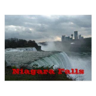 Niagara Falls (text) Postcard