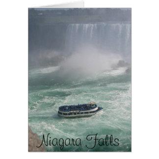 Niagara Falls Tour Card