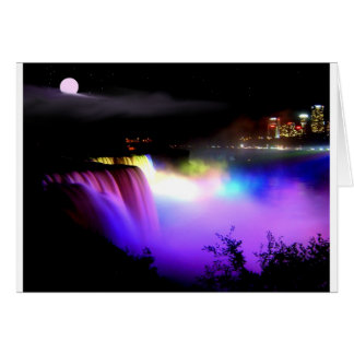 Niagara-Falls-under-floodlights-at-night Card