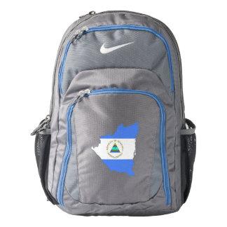 Nicaragua Flag/Map Backpack