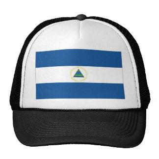 Nicaragua National Flag Cap