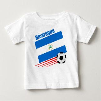 Nicaraguan Soccer Team Baby T-Shirt