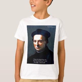 "Niccolo Machiavelli ""Power"" Wisdom Quote Gifts T-Shirt"