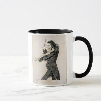 Niccolo Paganini (1782-1840) Playing the Violin, 1 Mug
