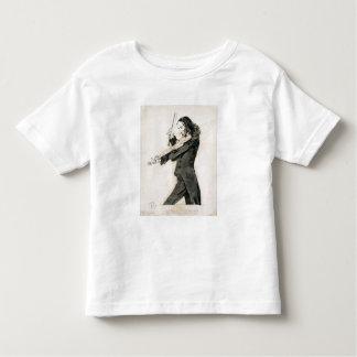 Niccolo Paganini (1782-1840) Playing the Violin, 1 Toddler T-Shirt