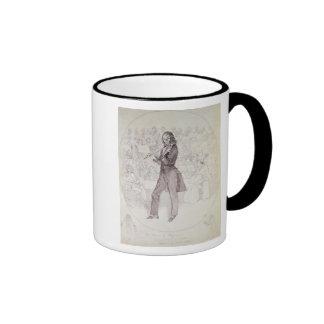 Niccolo Paganini , violinist Ringer Coffee Mug