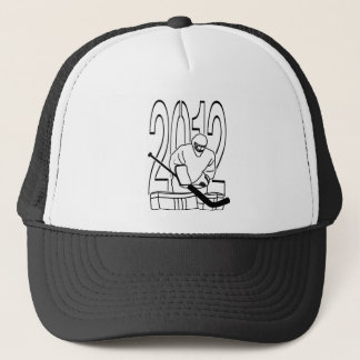 NICE BOLD  DESIGNS I CAN WEAR ANYWHERE TRUCKER HAT