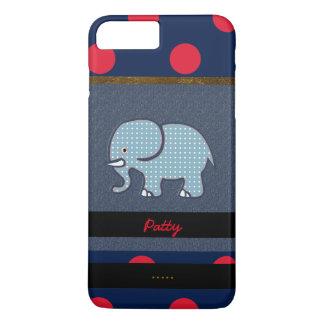 nice elephant & dots iPhone 8 plus/7 plus case