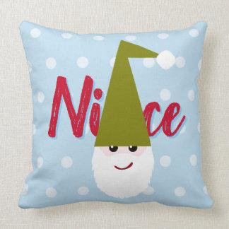 Nice Elf / Naughty Elf Cushion