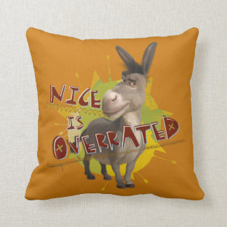 Nice Is Overrated Cushion