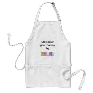Nichola periodic table name apron