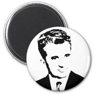nicolae ceausescu romanian communist dictator pcr 6 cm round magnet