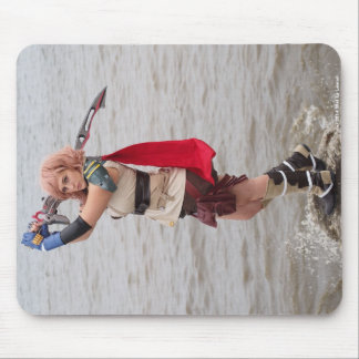 Nicole's Video Game Cosplay Mouse Pad