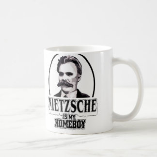 Nietzsche Is My Homeboy Coffee Mug