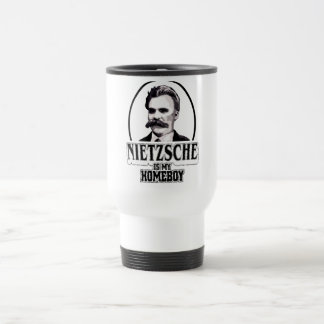 Nietzsche Is My Homeboy Mugs