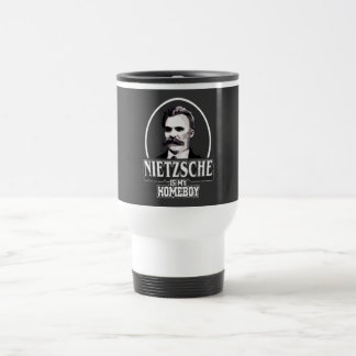 Nietzsche Is My Homeboy Stainless Steel Travel Mug
