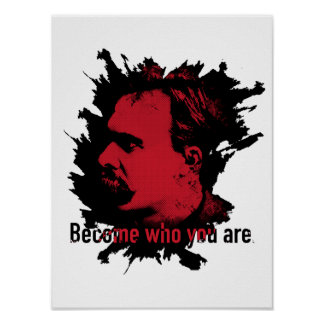 Nietzsche Print - Become Who You Are