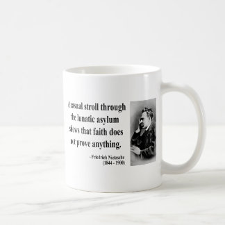 Nietzsche Quote 1b Coffee Mugs