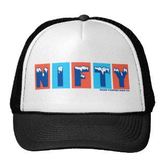 Nifty Logo Trucker Cap Trucker Hat