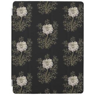 Nigella Damascena Mysterious White Blossom iPad Cover